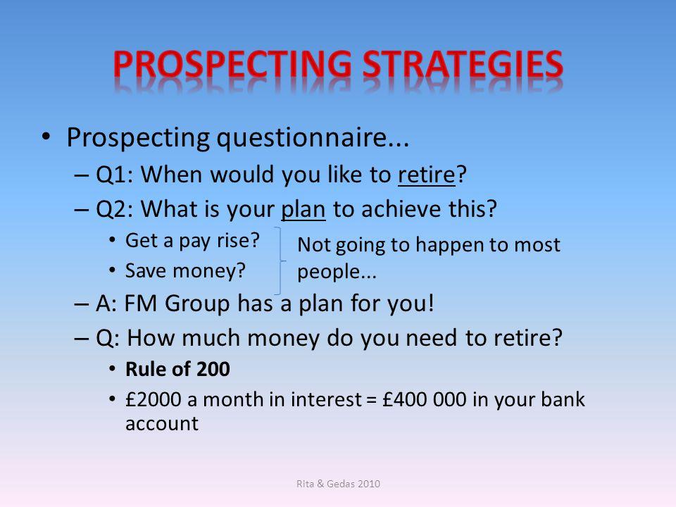 Prospecting Strategies