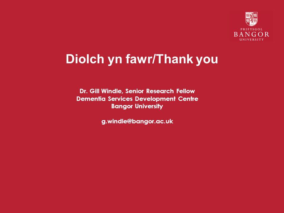 Diolch yn fawr/Thank you