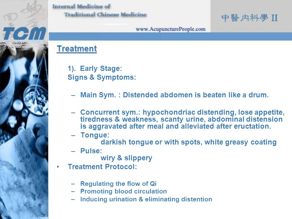 Treatment 1). Early Stage: Signs & Symptoms: