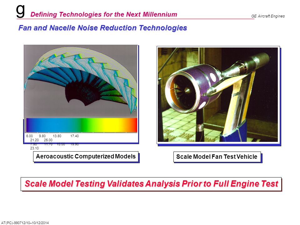 Scale Model Testing Validates Analysis Prior to Full Engine Test