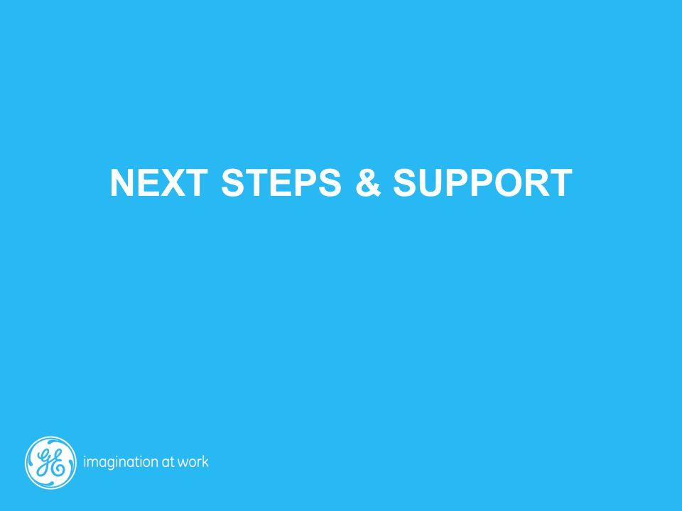 Next Steps & support