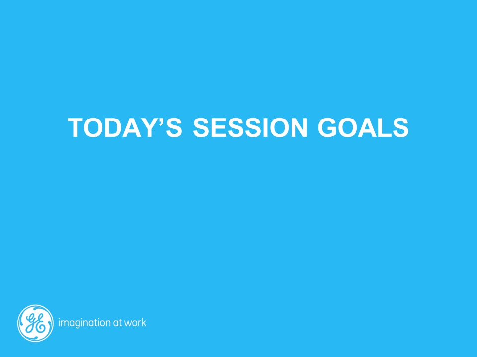 today's session goals