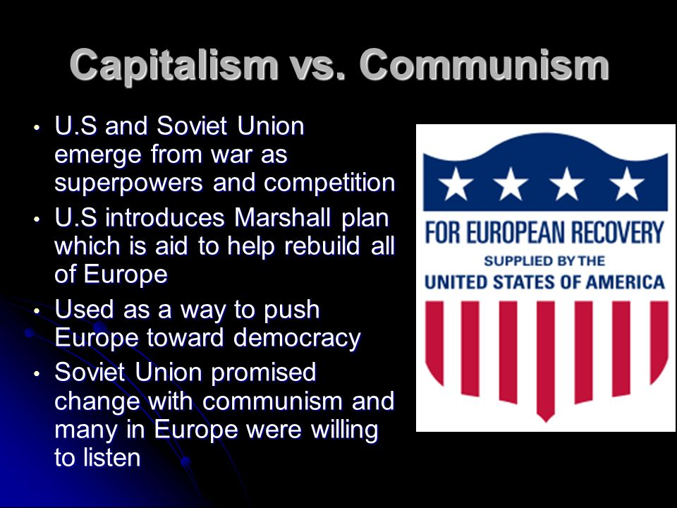Capitalism vs. Communism