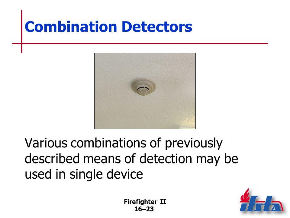 Combination Detectors