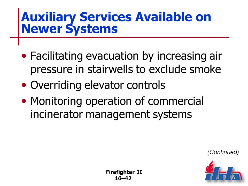 Auxiliary Services Available on Newer Systems