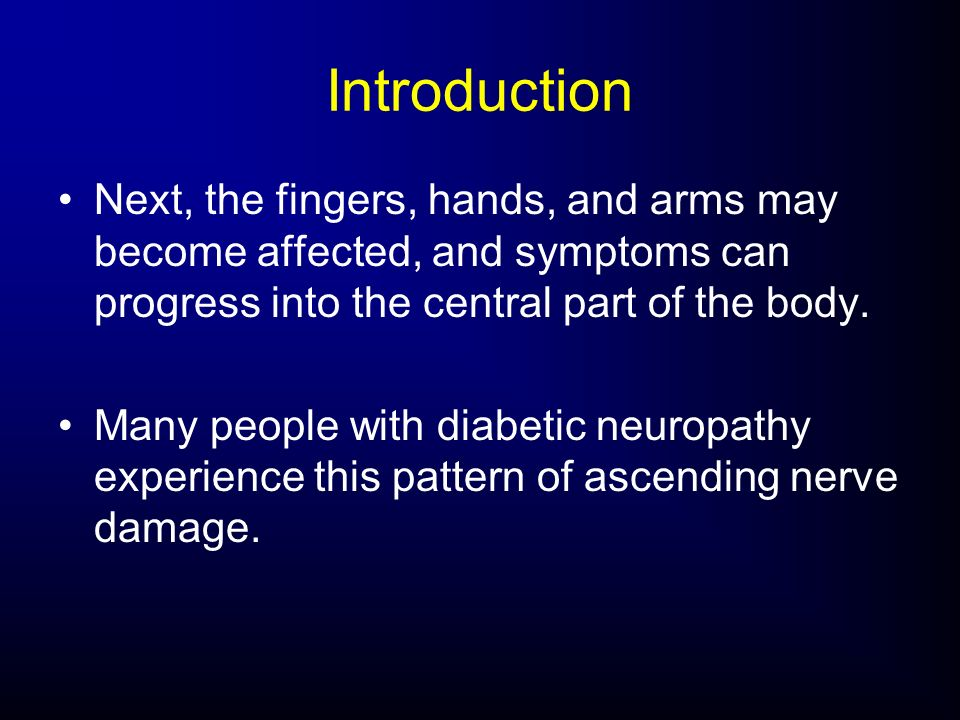 Introduction Next, the fingers, hands, and arms may become affected, and symptoms can progress into the central part of the body.