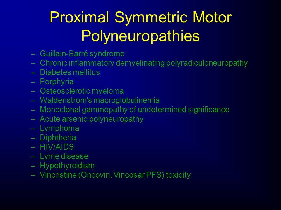 Proximal Symmetric Motor Polyneuropathies