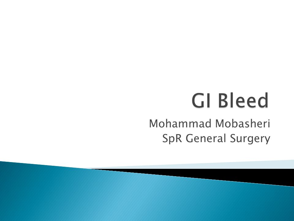 Mohammad Mobasheri SpR General Surgery