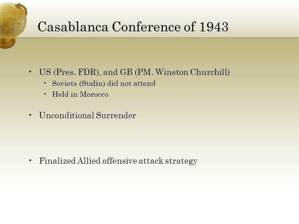 Casablanca Conference of 1943