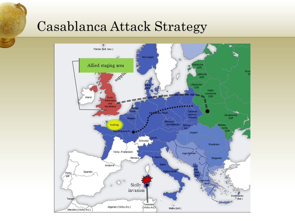 Casablanca Attack Strategy