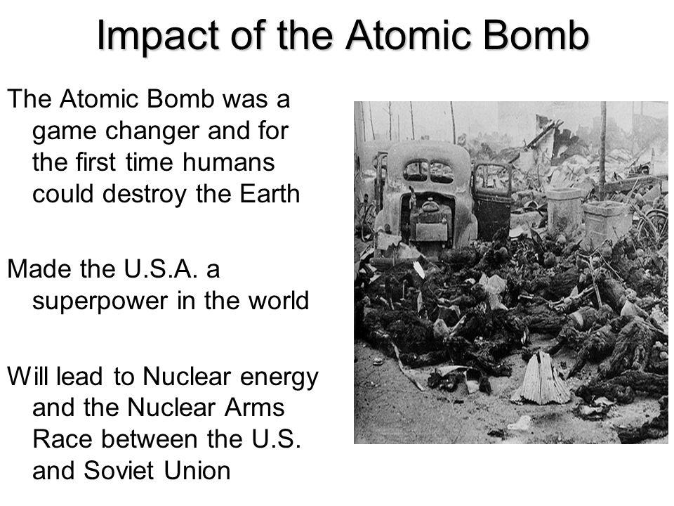 Impact of the Atomic Bomb