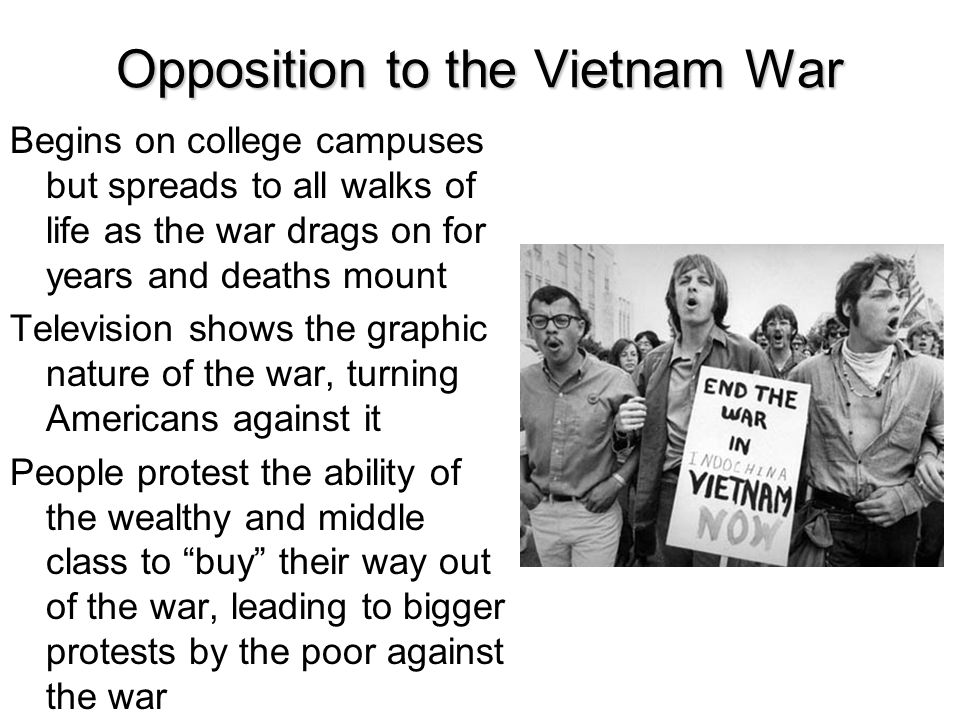 Opposition to the Vietnam War