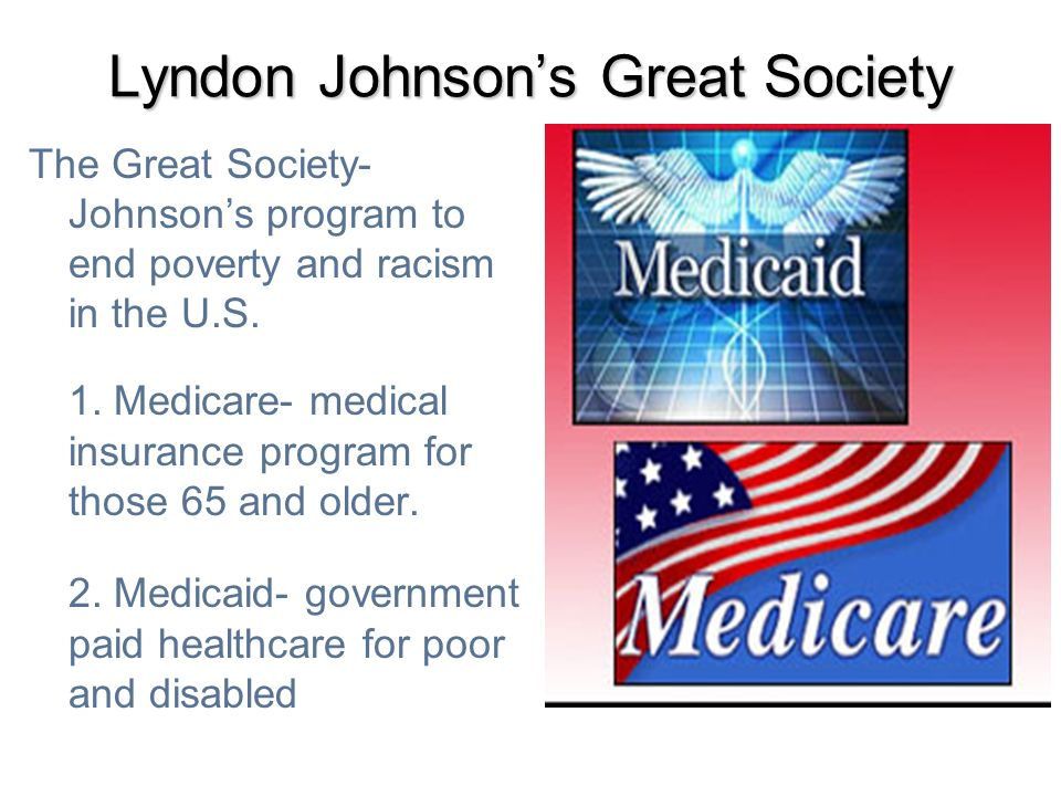 Lyndon Johnson's Great Society
