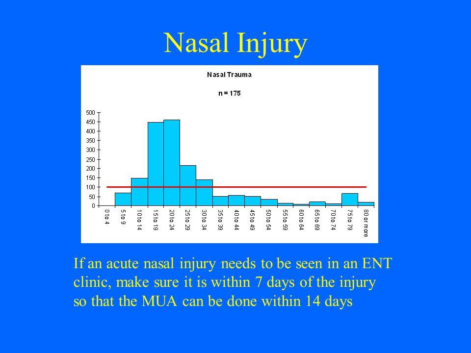 Nasal Injury