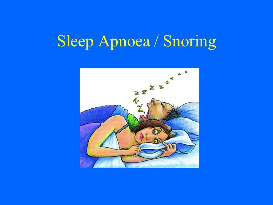Sleep Apnoea / Snoring