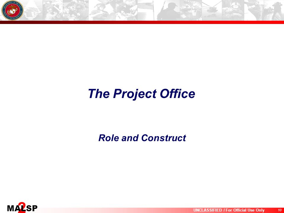 The Project Office Role and Construct
