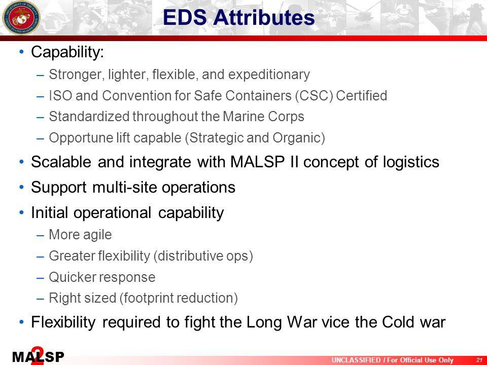 EDS Attributes Capability:
