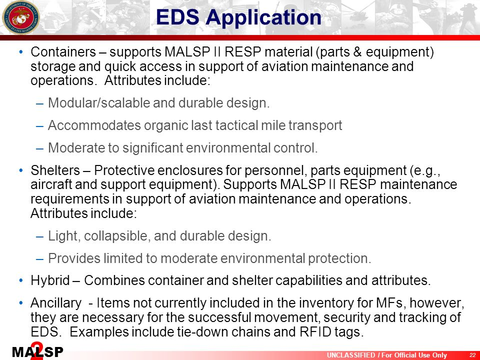 EDS Application