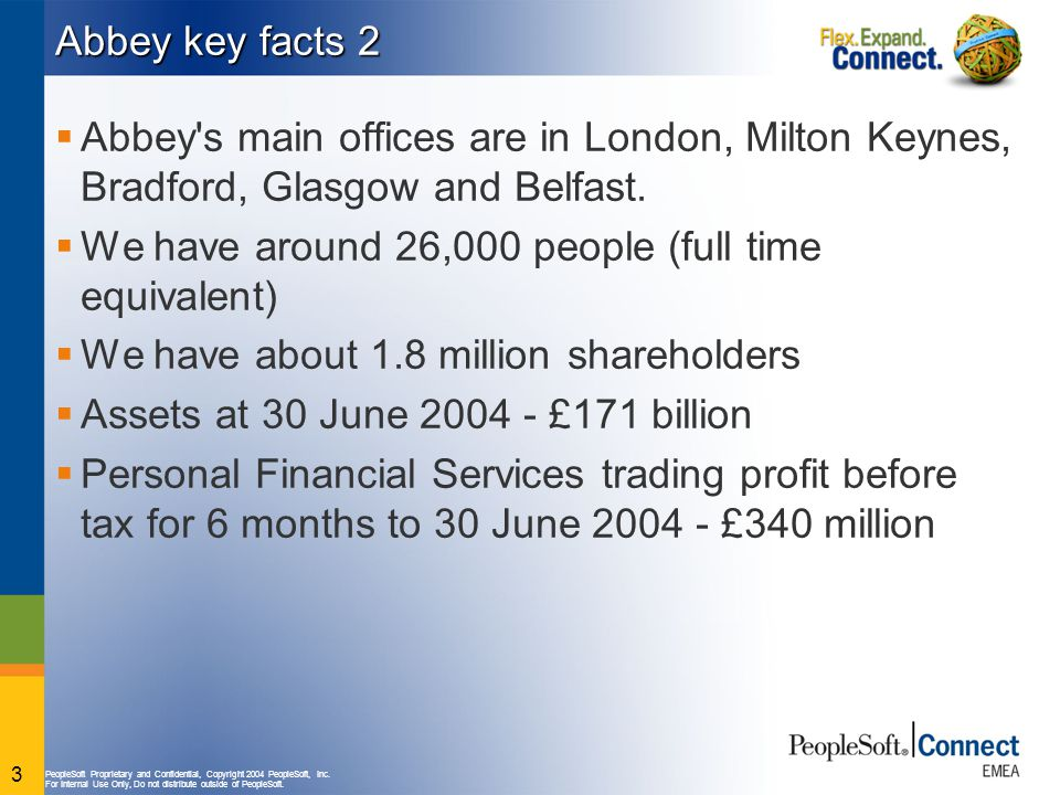 Abbey key facts 2 Abbey s main offices are in London, Milton Keynes, Bradford, Glasgow and Belfast.