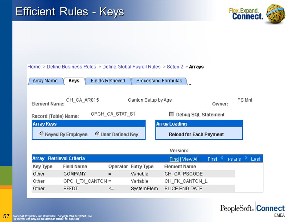 Efficient Rules - Keys Now, some keys have been added to the query