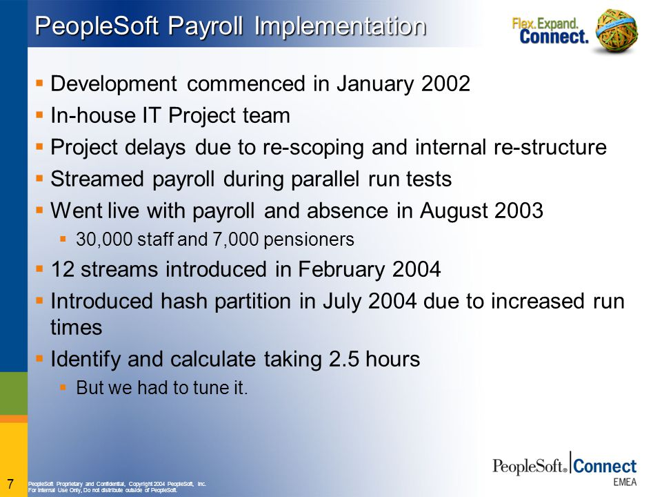 PeopleSoft Payroll Implementation