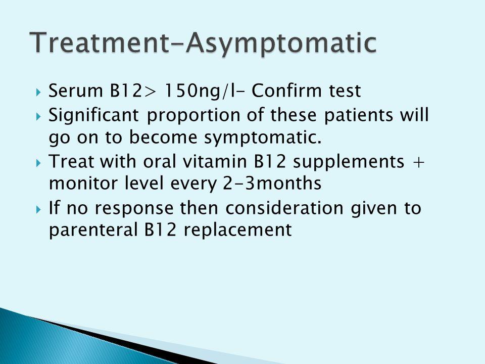 Treatment-Asymptomatic