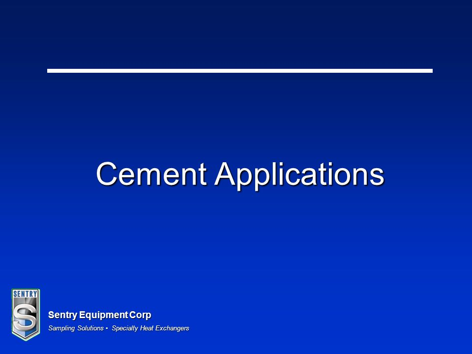 Cement Applications