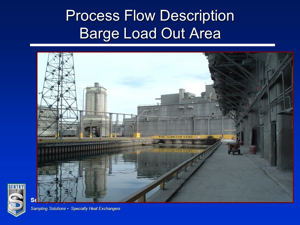 Process Flow Description Barge Load Out Area