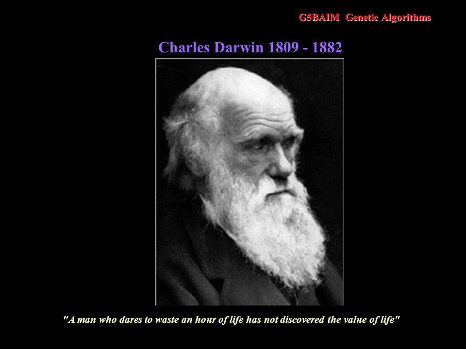 Charles Darwin 1809 - 1882 G5BAIM Genetic Algorithms