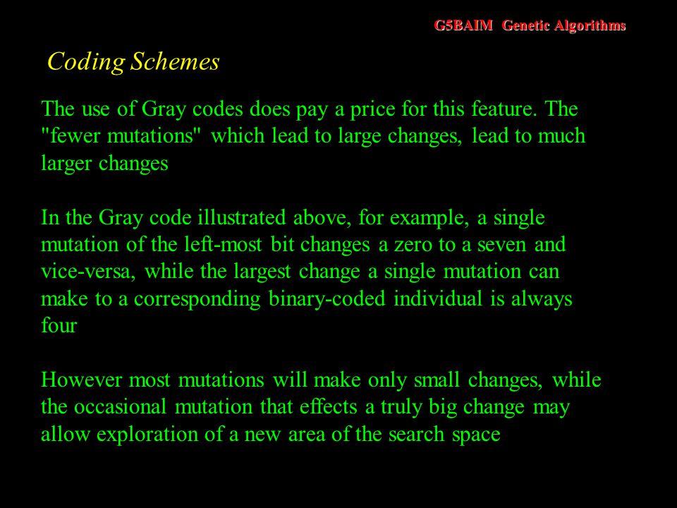 Coding Schemes