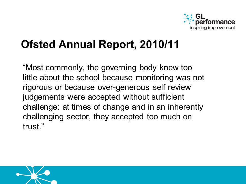 Ofsted Annual Report, 2010/11