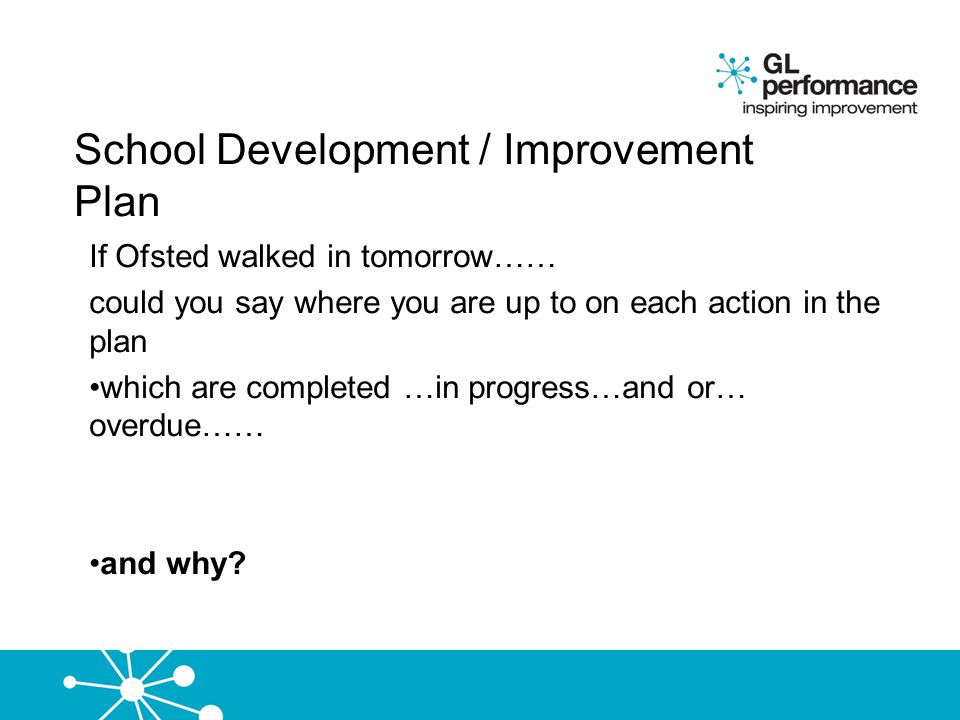 School Development / Improvement Plan
