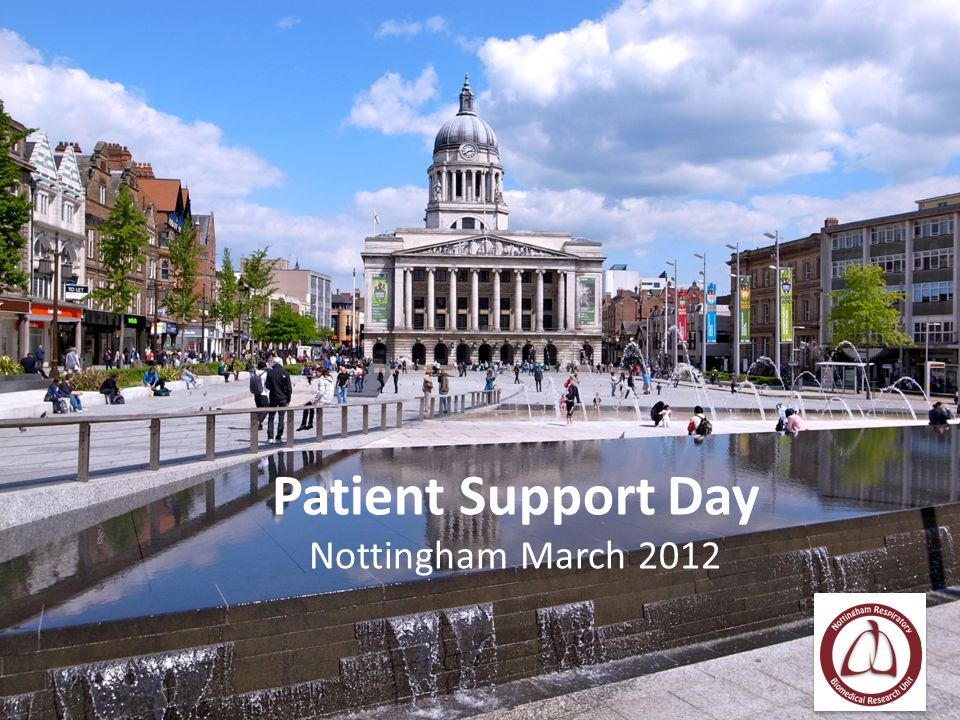 Patient Support Day Nottingham March 2012