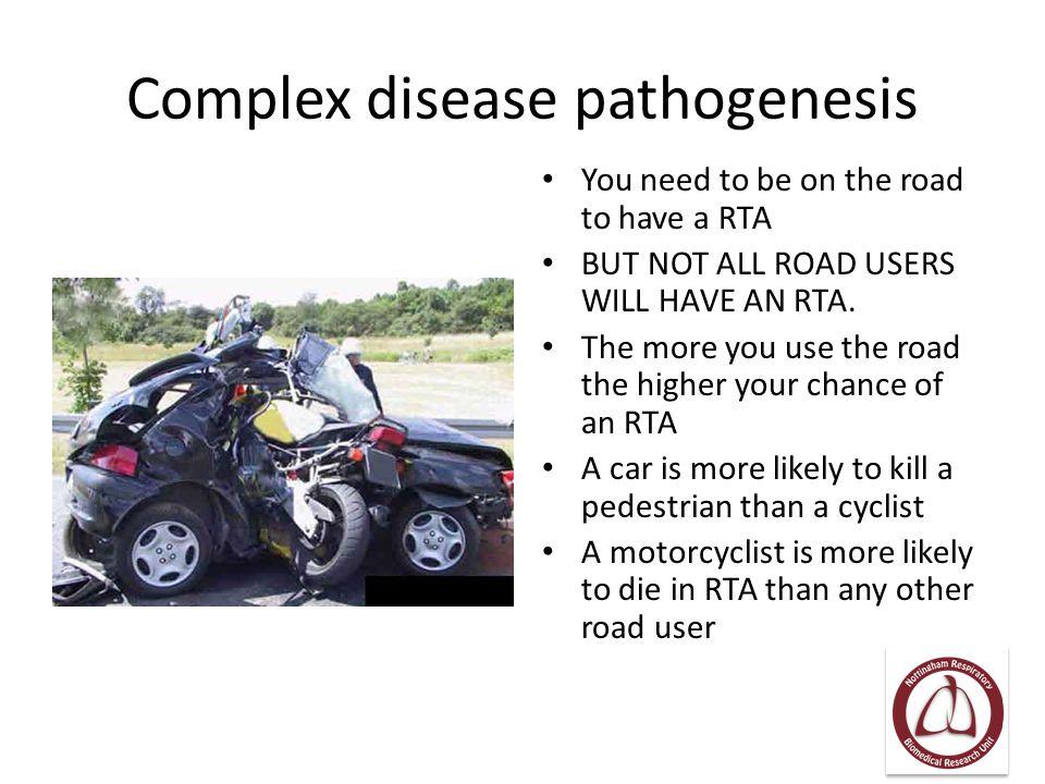 Complex disease pathogenesis