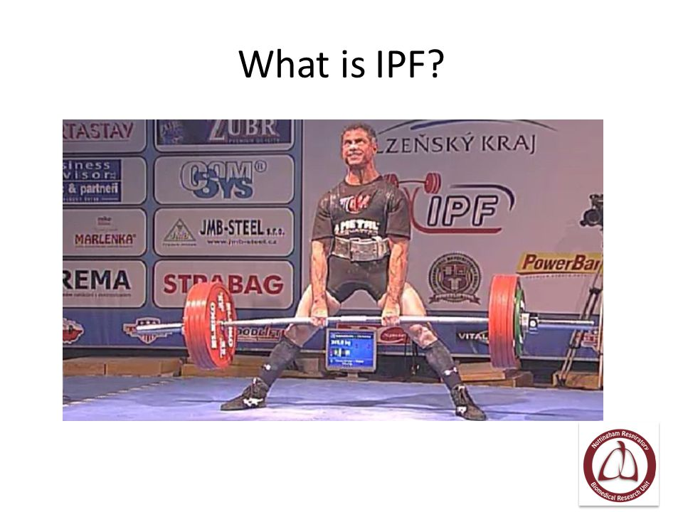 What is IPF