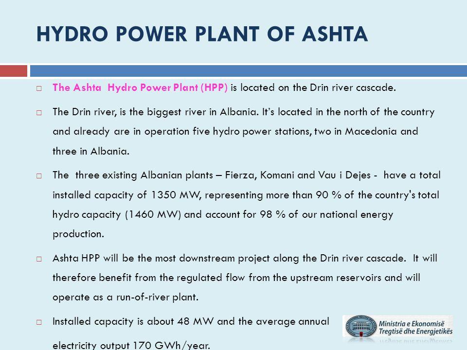 HYDRO POWER PLANT OF Ashta