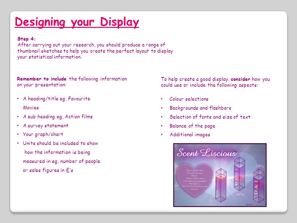 Designing your Display