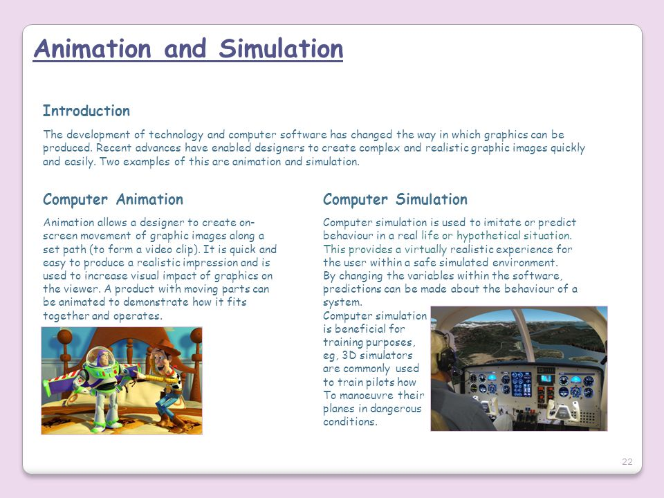 Animation and Simulation