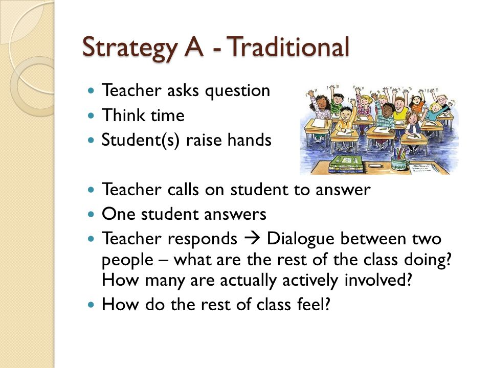 Strategy A - Traditional