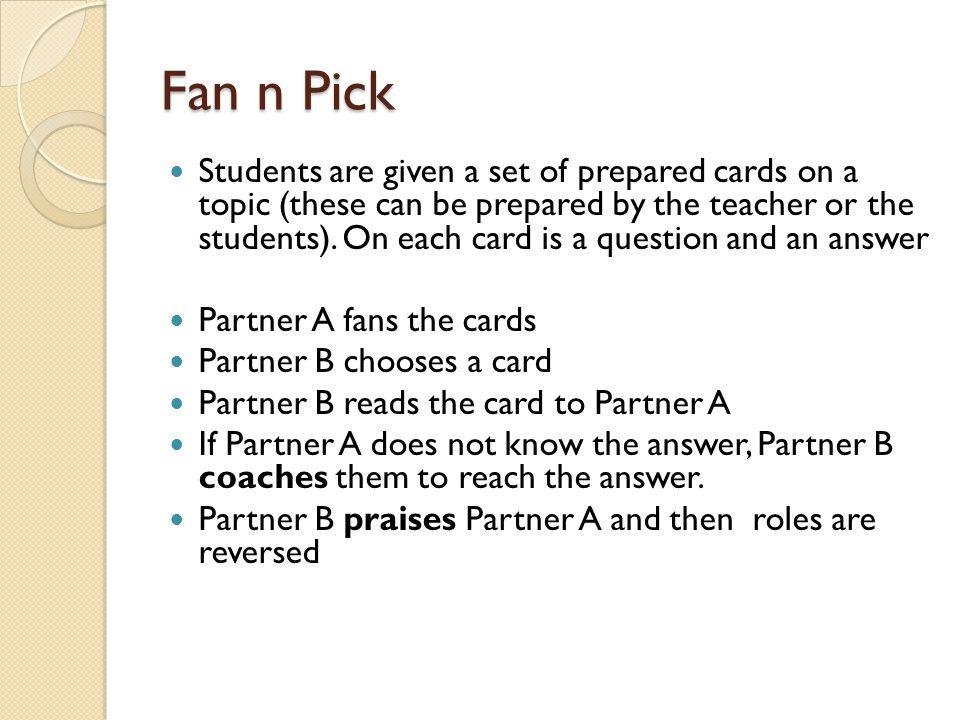 Fan n Pick