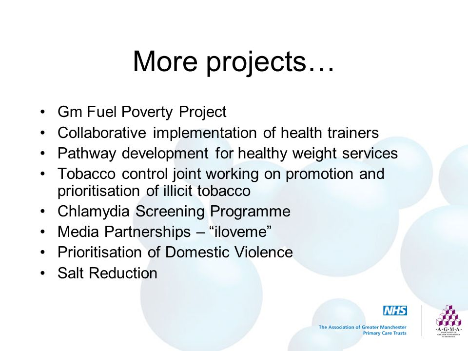 More projects… Gm Fuel Poverty Project