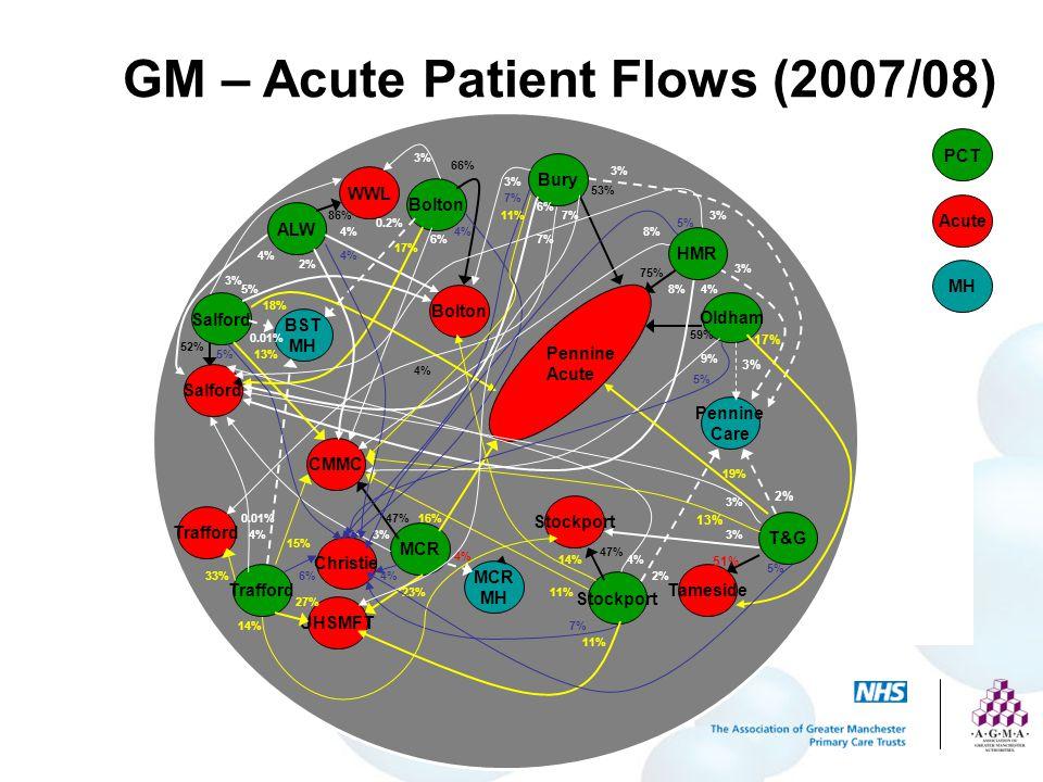 GM – Acute Patient Flows (2007/08)