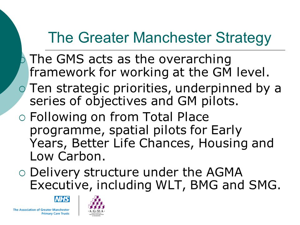 The Greater Manchester Strategy