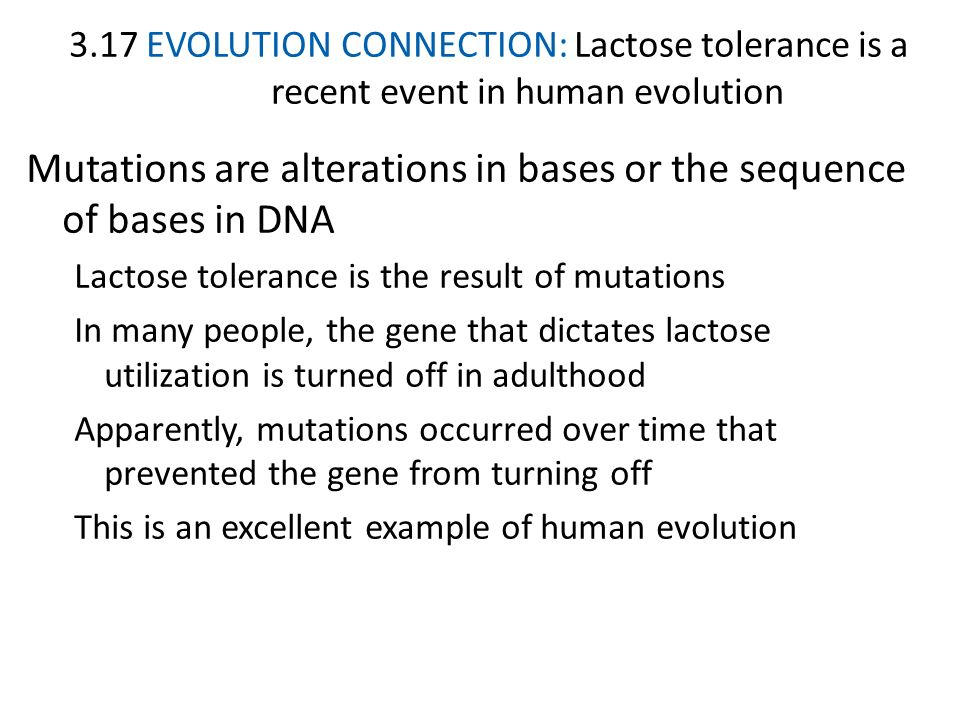 Mutations are alterations in bases or the sequence of bases in DNA