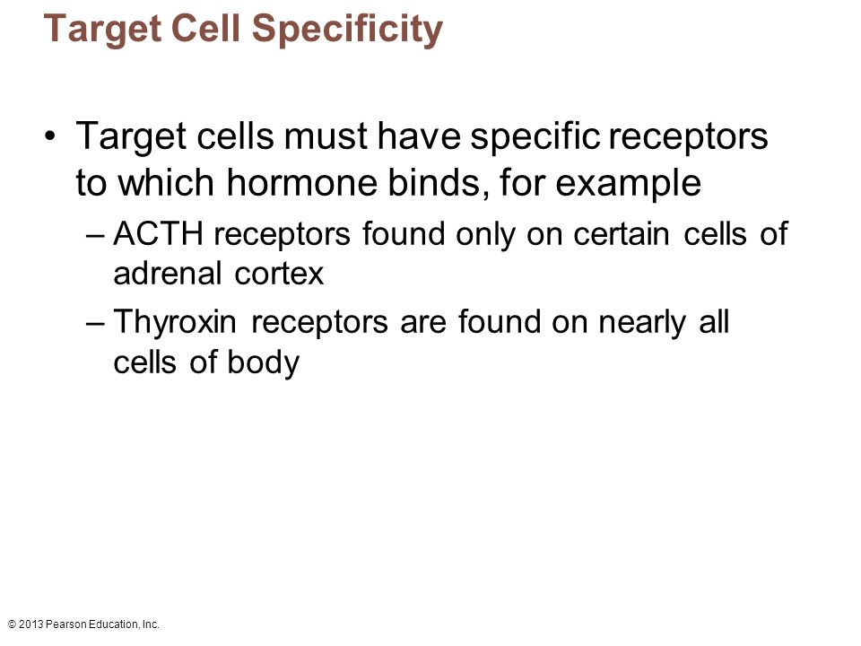 Target Cell Specificity