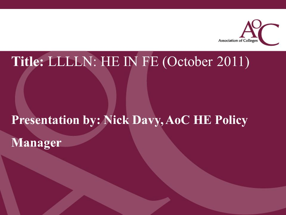 Title: LLLLN: HE IN FE (October 2011)