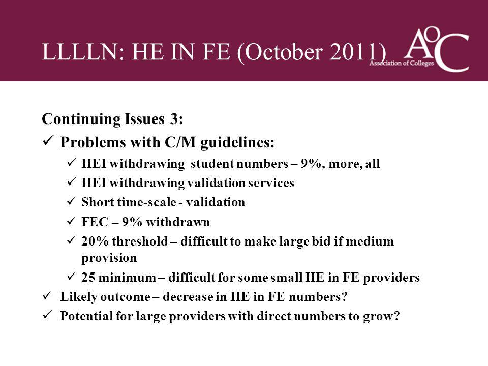 LLLLN: HE IN FE (October 2011)