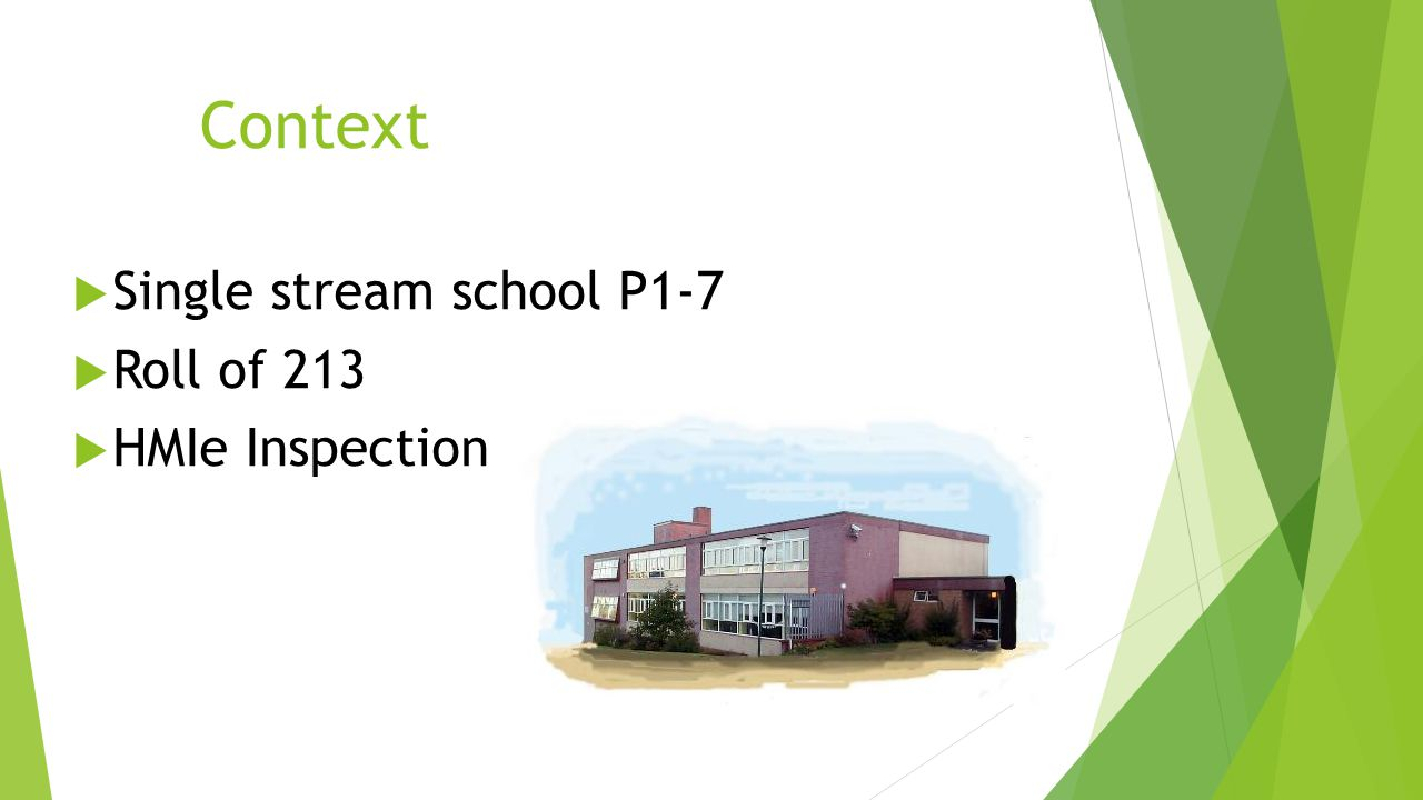 Context Single stream school P1-7 Roll of 213