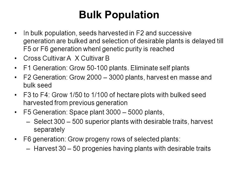 Bulk Population