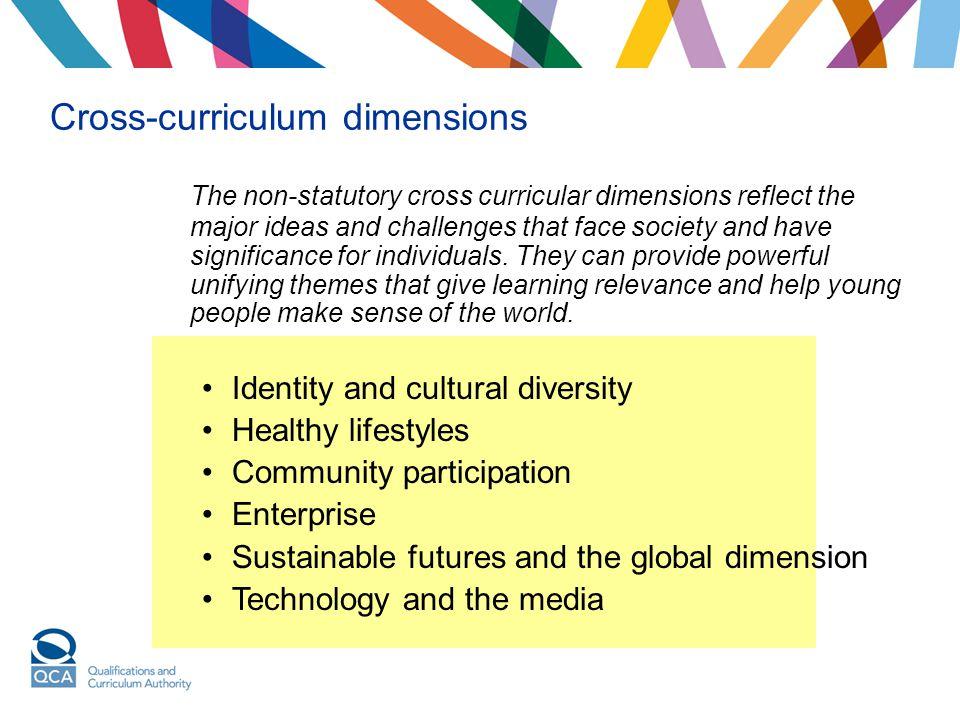 Cross-curriculum dimensions